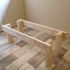 Diy Bed Frame, Sofa Frame, Wood Crafts, Diy And Crafts, Sleeping Nook, Boho Living Room, Boy Room, Dog Bed, Wood Projects