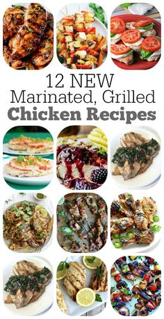 12 Marinated Grilled Chicken Recipes