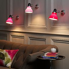 buy anglepoise type 1228 wall light pink online at johnlewiscom john lewis anglepoise lighting