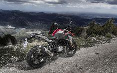 Download wallpapers BMW G 310 GS, 4k, superbikes, 2018 bikes, offroad, german motorcycles, BMW