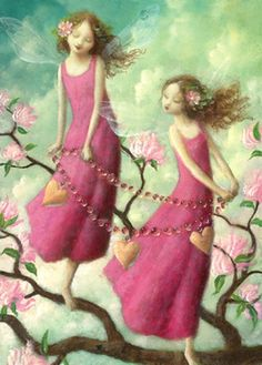 Stephen Mackey —  Pink Dress Fairy (465x650)