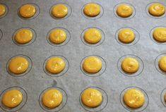 Slik lykkes du med makroner - trinn for trinn - Franciskas Vakre Verden Canned Blueberries, Frozen Blueberries, Blueberry Scones, Vegan Blueberry, Vegan Scones, Gluten Free Flour Mix, Scones Ingredients, Vegan Butter, Muffin Recipes
