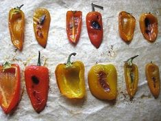 How to Smoke Peppers – Make Delicious Smoked Peppers Easily Dried Peppers, Roasted Peppers, Pellet Grill Recipes, Grilling Recipes, Cooking Herbs, Cooking Tips, Hot Pepper Recipes, Pork Ribs, Bbq Ribs