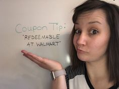 """Coupon Tip: """"Redeemable at Walmart"""""""