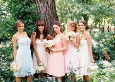 Donna Morgan Bridesmaids Dresses Available at Bridal and Formal 300 West Benson Cincinnati, Ohio 45215