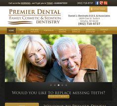 #sesamewebdesign #responsive #psds #dental #black #yellow #serif #classic #texture #top-nav
