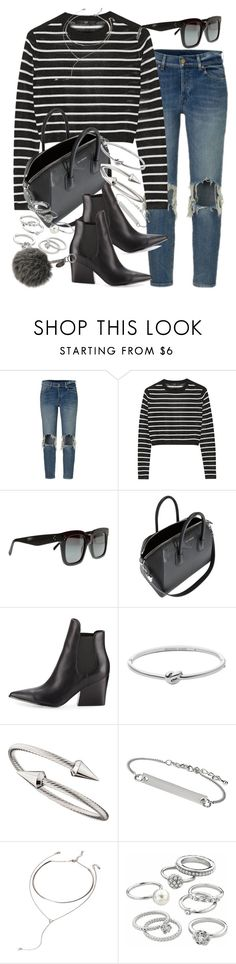 """""""Sin título #4093"""" by hellomissapple on Polyvore featuring moda, TIBI, Givenchy, Kendall + Kylie, Michael Kors, Jules Smith, Topshop, Forever 21, Candie's y Fendi"""