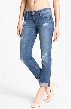 Mavi Jeans 'Emma' Slim Boyfriend Jeans (Nolita Blue) (Online Only) | Nordstrom