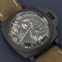 "Panerai PAM00528 ""Lo Scienziato"" :A Work of Art on Your WristDetailed review on http://ift.tt/1L4KdH3 inceleme için horobox.com by horobox"