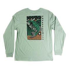 ReBorn Mens Pullover Okamipc Long Sleeve Tshirt Crewneck Sweatshirt Ash