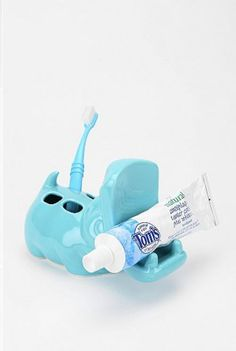 Hippo Toothbrush Holder (Urban Outfitters)... OMG I may just have to go Downtown