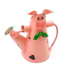 Look what I found on #zulily! Pig Watering Can #zulilyfinds