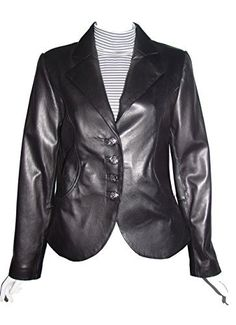 "Product review for Nettailor Big and Tall Women PLUS & ALL SIZE 4065 Basic Leather Short Blazer.  - Lambskin, Notched Collar, Two Button Front, Slim Fit, No Insulation. Not all leather is the same. When vendors say or state, ""leather or genuine leather"", they generally use ""pig skin"", which is the worst quality of leather and therefore inexpensive. If you choose to buy..."