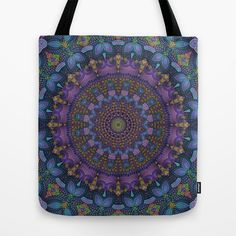 Harmony No. 9 Tote Bag by Lyle Hatch - $22.00
