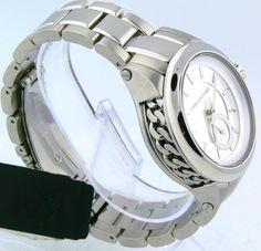 New Karl Lagerfeld Watch Stainless Steel Chain detail Bracelet 40mm KL1204 #KarlLagerfield #Fashion