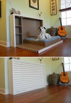 Hundebett Designs: was finden Hunde gemütlich?