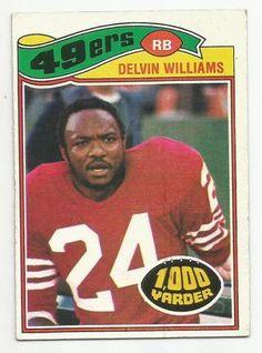 Delvin Williams 1977 Topps Football Card