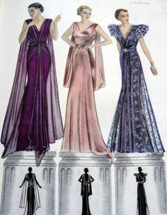 VTG 1930s PARIS Pattern Catalog Book MODES et TRAVAUX 1935 PATOU LELONG PIGUET