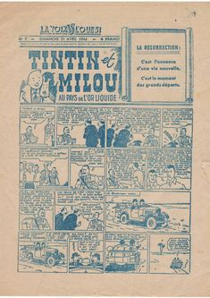 Herge Tintin, Ligne Claire, Comic Page, Illustrations And Posters, Comic Books Art, City Photo, Vintage World Maps, Animation, Graphic Novels