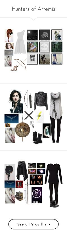 """Hunters of Artemis"" by melindaisinsane ❤ liked on Polyvore featuring Ultimate, Grace, ...Lost, Charlotte Russe, PATH, Dirty Laundry, American Eagle Outfitters, greekmythology, mythology and artemis"