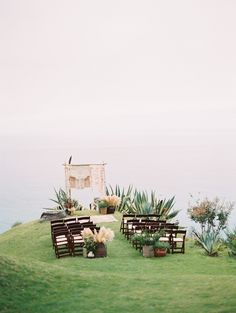 Dreamy Wedding on the Big Sur Cliffs is part of Elope wedding Photographed by Kurt Boomer this cliffside wedding on California& Big Sur features incredible views and bohochic design elements - Trendy Wedding, Dream Wedding, Elope Wedding, Forest Wedding, Chic Wedding, Wedding Bride, Perfect Wedding, Wedding Rings, Wedding Colors
