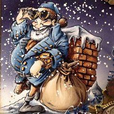 Christmas Eve Countdown Digi Stamp in Digital images