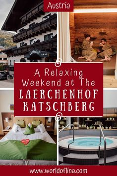 The Hotel Laerchenhof Katschberg is the perfect place for a relaxing weekend getaway in the beautiful state of Carinthia in Austria. #austria #carinthia #katschberg #spaholidays #weekendgetaway #wellnesshotel | Carinthia Travel | Travel to Austria Hotel S, At The Hotel, Europe Travel Guide, Travel Guides, Travel Abroad, Places To Travel, Travel Destinations, Berlin, Carinthia