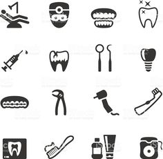 Soulico icons - Dental royalty-free stock vector art
