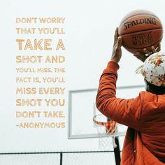 Take the shot  #mondaymotivation