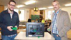 News: 3D-Drucker im Unterricht: Schule in Tönning (D) setzt auf 3D-Drucker.