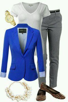 Outfits para la oficina con flats