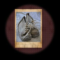 Vintage Baby Shoes Fine Art Print and Greeting Cards