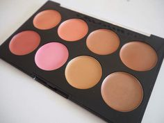 Technic Colour Fix – Review & Swatches | Swish My Swag blush and bronze cream palette