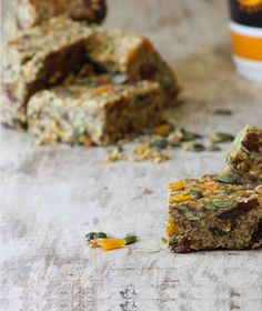 This recipe was created as I dont always have time to sit down and have a virtous healthy breakfast like my wife does. It combines all the same ingredients but in the convience of being able to grab a slice and head off to work.