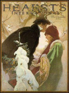 Alphonse Mucha — Hearst's International — December 1922
