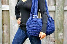 Crystal's CarryAll pdf Crochet Pattern purse/bag door BySincerelyPam, $5.00