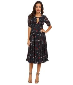 awesome Free People Bonnie Dress Midnight Combo