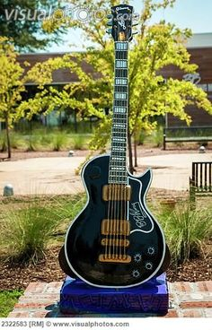 Guitar Outside BB King Museum; Indianola, #Mississippi