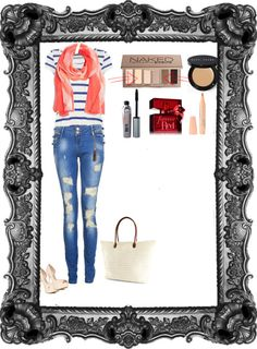 """""""Spring Break: How To Look Good While Having Fun """" by a-day-in-the-life-of-me ❤ liked on Polyvore"""