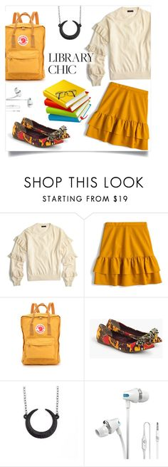 """""""ABC: Always Be Chic"""" by collagette ❤ liked on Polyvore featuring J.Crew, Fjällräven, jcrew, librarychic, hardtofind, therogueandthewolf and Fjaliraven"""