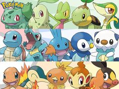 pokemon generations by rastlion