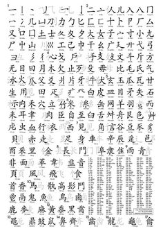 214 Chinese Radical Poster - Size : A2 - Printable - Downloadable - Shareable (download : https://www.facebook.com/download/273191866196471/Radical%20-%20A2%20-%20Ver2.pdf
