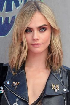 The 11 best fall haircut ideas to try now: Cara Delevingne's single length lob