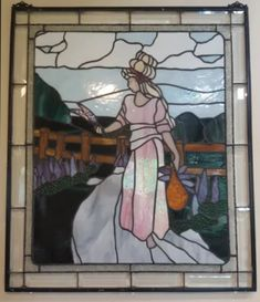 Stained Glass by Rosemary Doran - Arts & Crafts Ideas Art Of Glass, Stained Glass Art, Rapid Resizer, Stencil Painting, Pencil Drawings, Stencils, Arts And Crafts, Artist, People