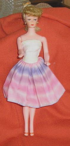 Barbie Doll Clone in 60s Dress