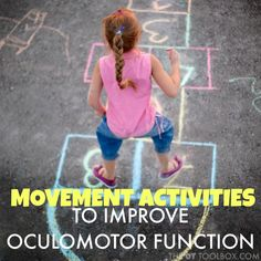 oculomotor function activities for kids