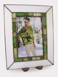 Stained Glass Picture Frame by the Berkenstocks