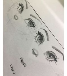 Christina Lorre is so talented Pencil Art Drawings, Art Drawings Sketches, Cool Art Drawings, Detailed Drawings, Art Illustrations, Easy Drawings, Eye Drawing Tutorials, Art Tutorials, Drawing Tips