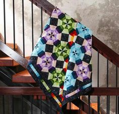 Love this Kalidoscope quilt