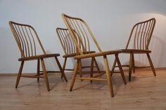 1von4 Stühle Stuhl Chair by Bengt Åkerblom - AKERBLOM - Sweden 50er Jahre 50s